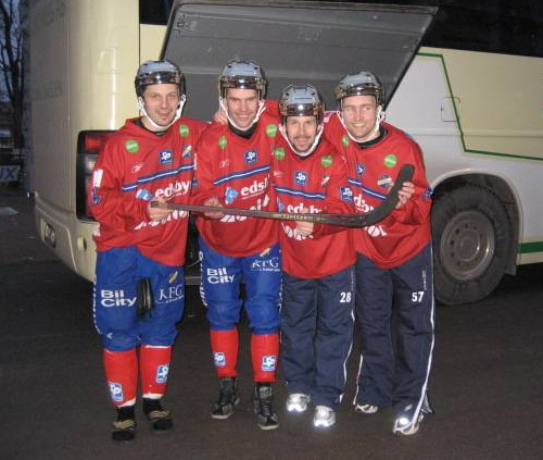 2008 SM-GULD EDSBYN - Christian Mickelsson- Mattias Hammarström - Pär Törnberg - Joakim Hedqvist