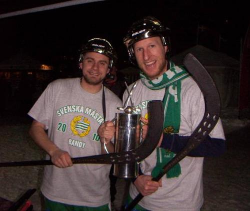 2010 SM-GULD HAMMARBY - David Karlsson och Stefan Xet Erixon.